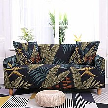 Stretch Sofa Covers,Stretch Plant Leaf Printed Non