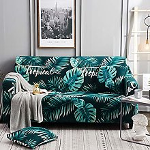 Stretch Sofa Covers with Pillowcase Printed Sofa