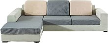 Stretch Sofa Cushion Cover,L Shape Chaise Lounge
