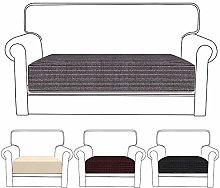 Stretch Sofa Cushion Covers 2 Seater Universal