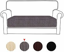 Stretch Sofa Cushion Covers 3 Seater Universal