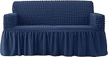 Stretch Sofa Slipcover with Skirt, 1 Piece Couch