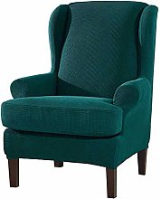 Stretch Wing Back Armchair Cover Couch Sofa Cover,