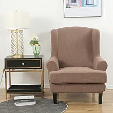 Stretch Wing Chair Slipcover 2-piece set Wingback