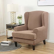 Stretch Wingback Chair Cover Sofa Slipcover, Soft