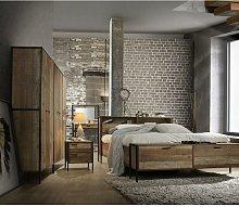 Stretton 4 Piece Bedroom Furniture Set Wardrobe 4