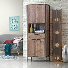 Stretton Tall Storage Kitchen Pantry Sideboard