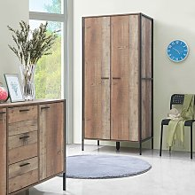 Stretton Urban 2 Door Double Wardrobe Bedroom