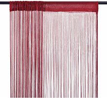 String Curtains 2 pcs 100x250 cm