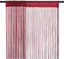 String Curtains 2 pcs 140x250 cm