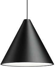 String Light Cone Pendant by Flos Black