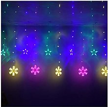 String lights 2.5M 138 LED Christmas Snow Fairy