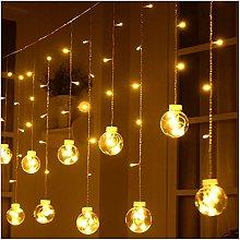 String lights 3M 138LED Wish Ball Curtain String
