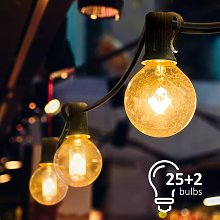 String Lights, Connectable String Lights with 25