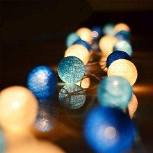 String Lights Cotton Balls Battery - 3.3M 20 LED