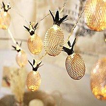 String Lights LED Pineapple Lamp Fairy Lights 1.5M
