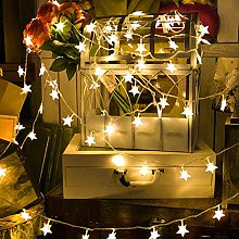String Lights LEEDY Clearance Sale! 40 LED 6M Star