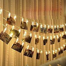 String Lights, LEEDY Useful 10 LED Hanging Card