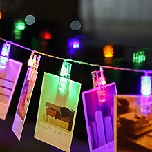 String Lights, LEEDY Useful 10 LED Hanging Card