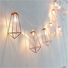 String lights Novelty LED Fairy Lights 20 Metal