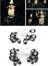 String Lights, Plastic Kerosene Lamp Shape