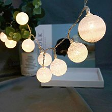 String Lights with Plug for Bedroom Outdoor Indoor