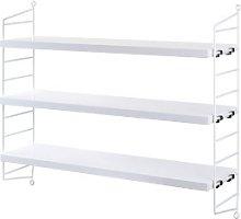 String - White Pocket Shelf - White