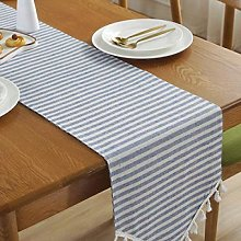 Stripe Table Runner for Wedding Party Cotton and