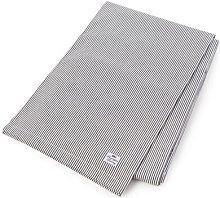 Stripe Tablecloth Lexington Colour: Dark Grey