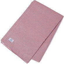 Stripe Tablecloth Lexington Colour: Red