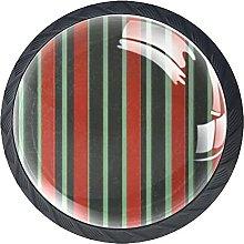 Stripe Vintage Knobs for Dresser Drawers