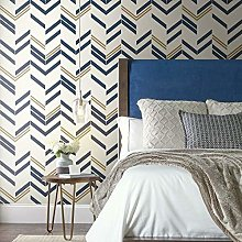 Striped Chevron Wallpaper Adhesive