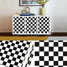 Striped DIY Self Adhesive Wallpaper PVC Furniture