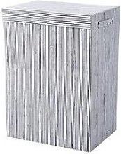Striped Laundry Hamper
