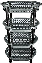 Strong 4 Tier Vegetable Fruit Storage Kitchen