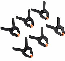 Strong Spring Clamps 6pcs Hard Plastic Mini Spring