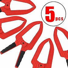 Strong Spring Clamps Large Depth 6 inch Plastic