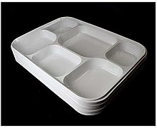 Strong White Multi 6 Compartment Disposable