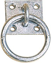 Stubbs Tie Ring Plate (One Size) (Silver)