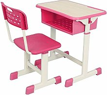 Student Desk and Chair Combo, Height Adjustable