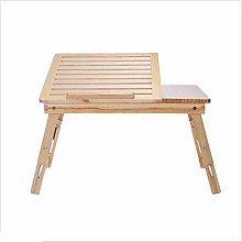 Student Lazy Laptop Desk Bed with Desk Folding