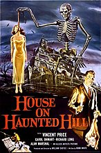 Studio B House on Haunted Hill Movie Cool Wall