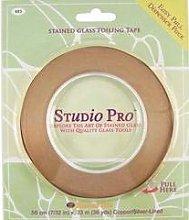 Studio Pro 7/32-Inch Silver Lined Copper Foil Tape