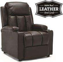 Studio Recliner Chair - Brown