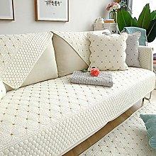 Study room Cotton sofa cushion cover, reversible