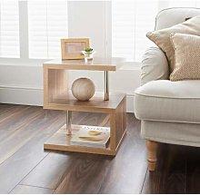 Stunning Design Hampton Side Table Storage Shelves
