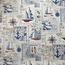 Stunning Panama Designer Vintage Cotton Linen Look