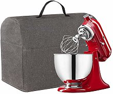 Sturdy Stand Mixer Dust Cover, Grey Dust Cover
