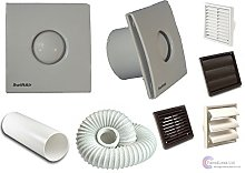 STY100H Timer Humidistat Extractor Bathroom Fan