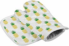 Style10 Heat Resistant Oven Mitts + 1 Cotton Pot